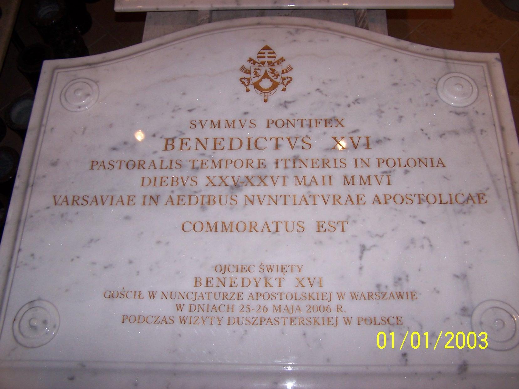 tablica pamiątkowa