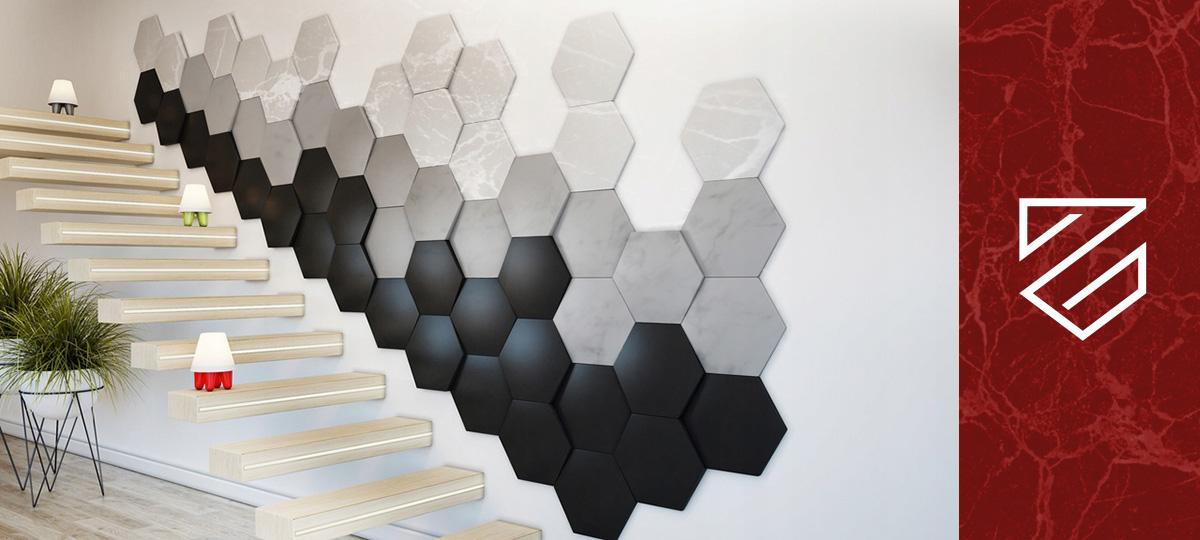 panele ścienne marmurowe 3D